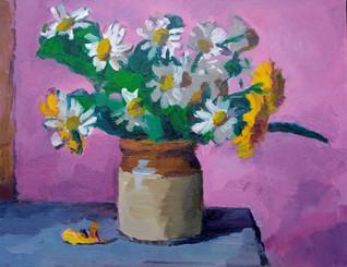 Dandelions and Marguerites