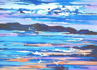 Mermaids Bay. Acrylic