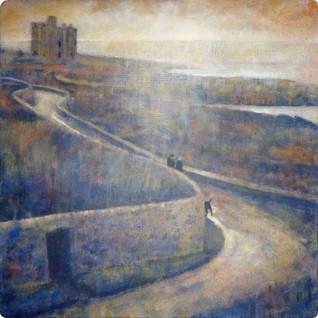 Taking the Castle Road (Portencross)