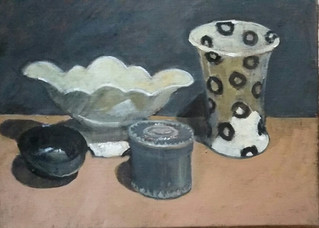 Still Life with Four Objects