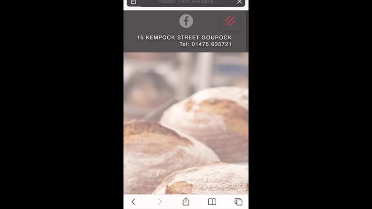 Bakehouse Gourock Mobile