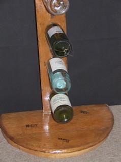 Whisky Wine Bottle 5 Rack