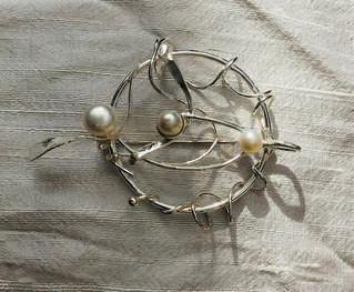 Mistletoe Brooch/Pendant