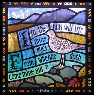 'Robertson Memorial Panel'; Knockando Church, Moray