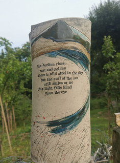 Large Vase with Poetry