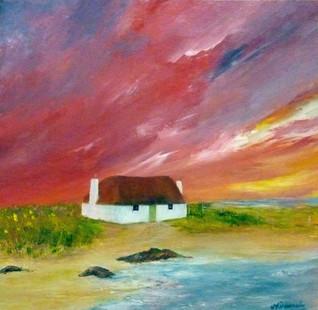 Hebridean House on the Machair