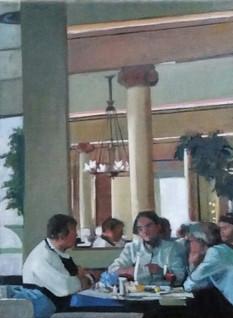 In the Cafe Peducci, Padua