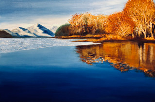 Ice on Loch Lomond