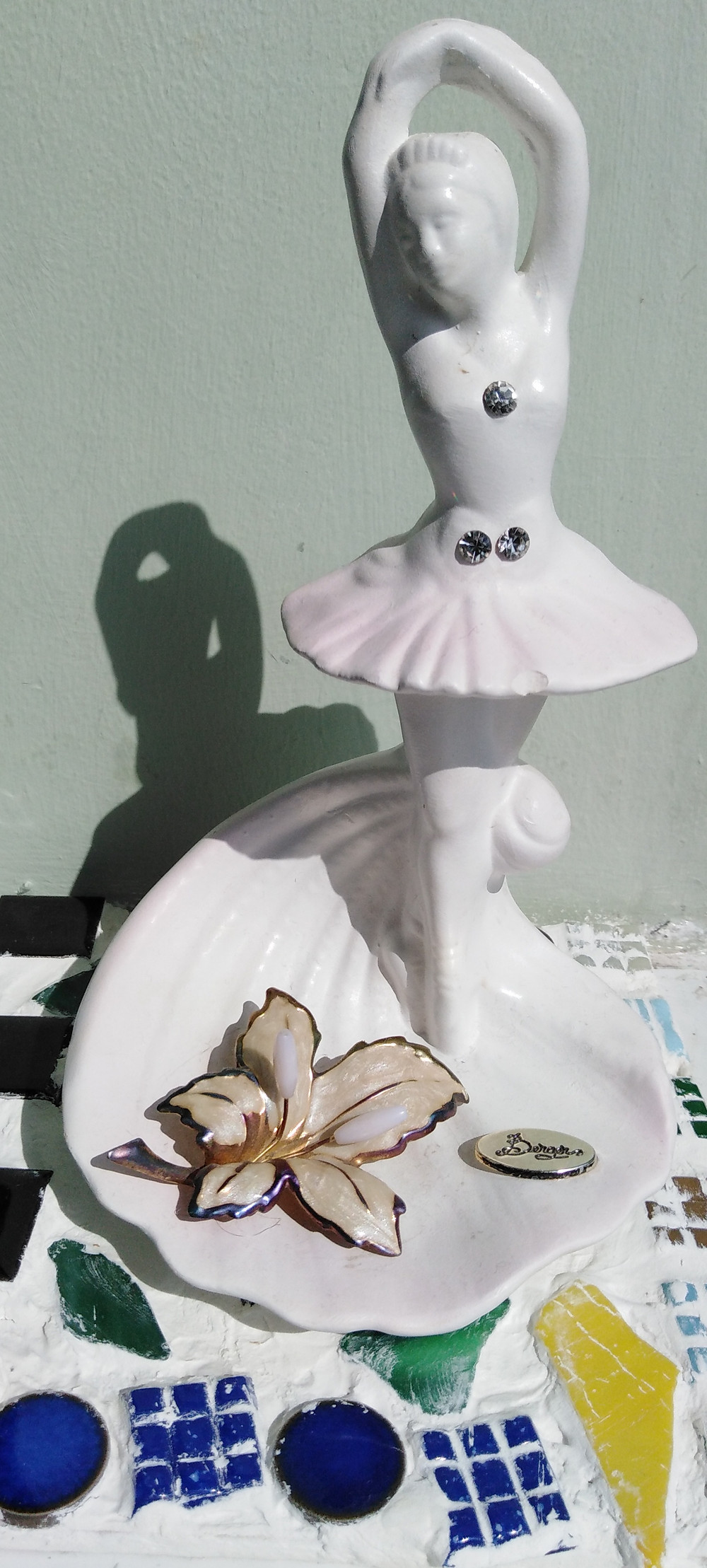 Twirling Ballerina depicting fluctuating markets