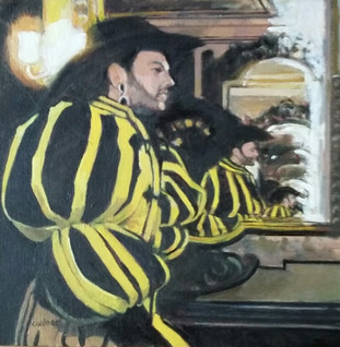 Carnival of Venice, Black and Yellow