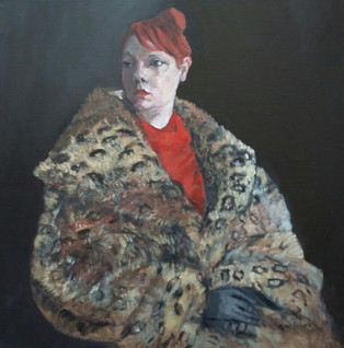 Linda in Ocelot Coat