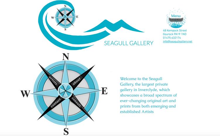 Seagull Gallery Gourock