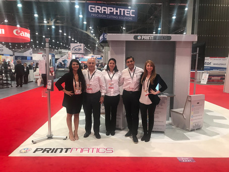 Presenting our Printmatics Division at the 2018 SGIA Show in Las Vegas!