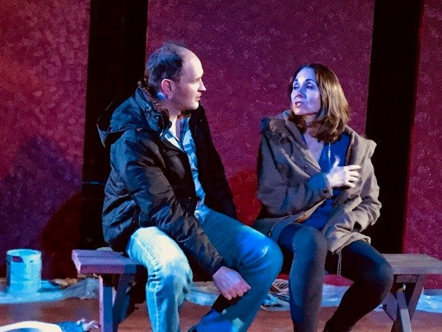 """Fix"" at Axial Theatre, directed by Catherine Banks with Susan Ward as ""Roberta."""