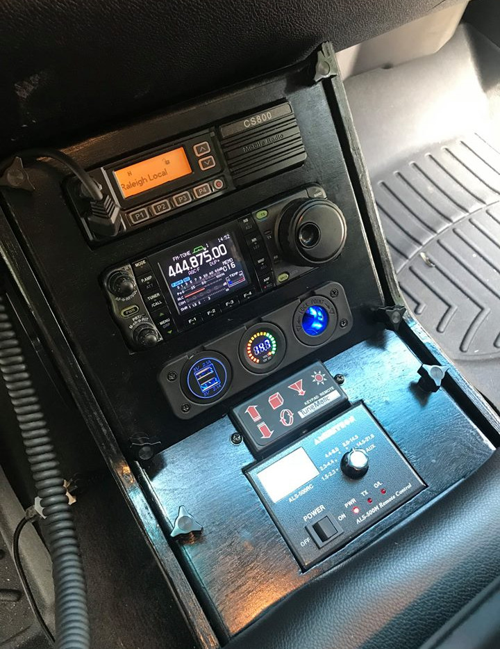 Console Front