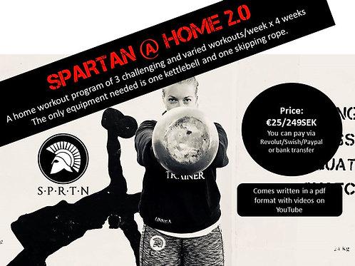Training program: Spartan @ Home 2.0