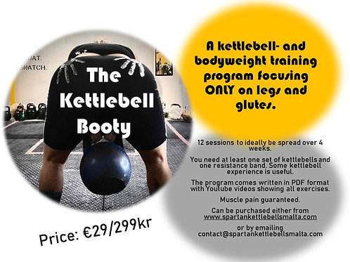 The Kettlebell Booty - Training program