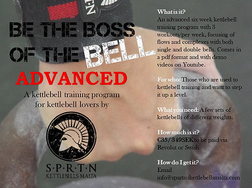 Be the boss of the bell - ADVANCED