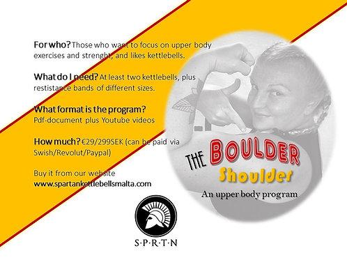 Training program: The Boulder Shoulder