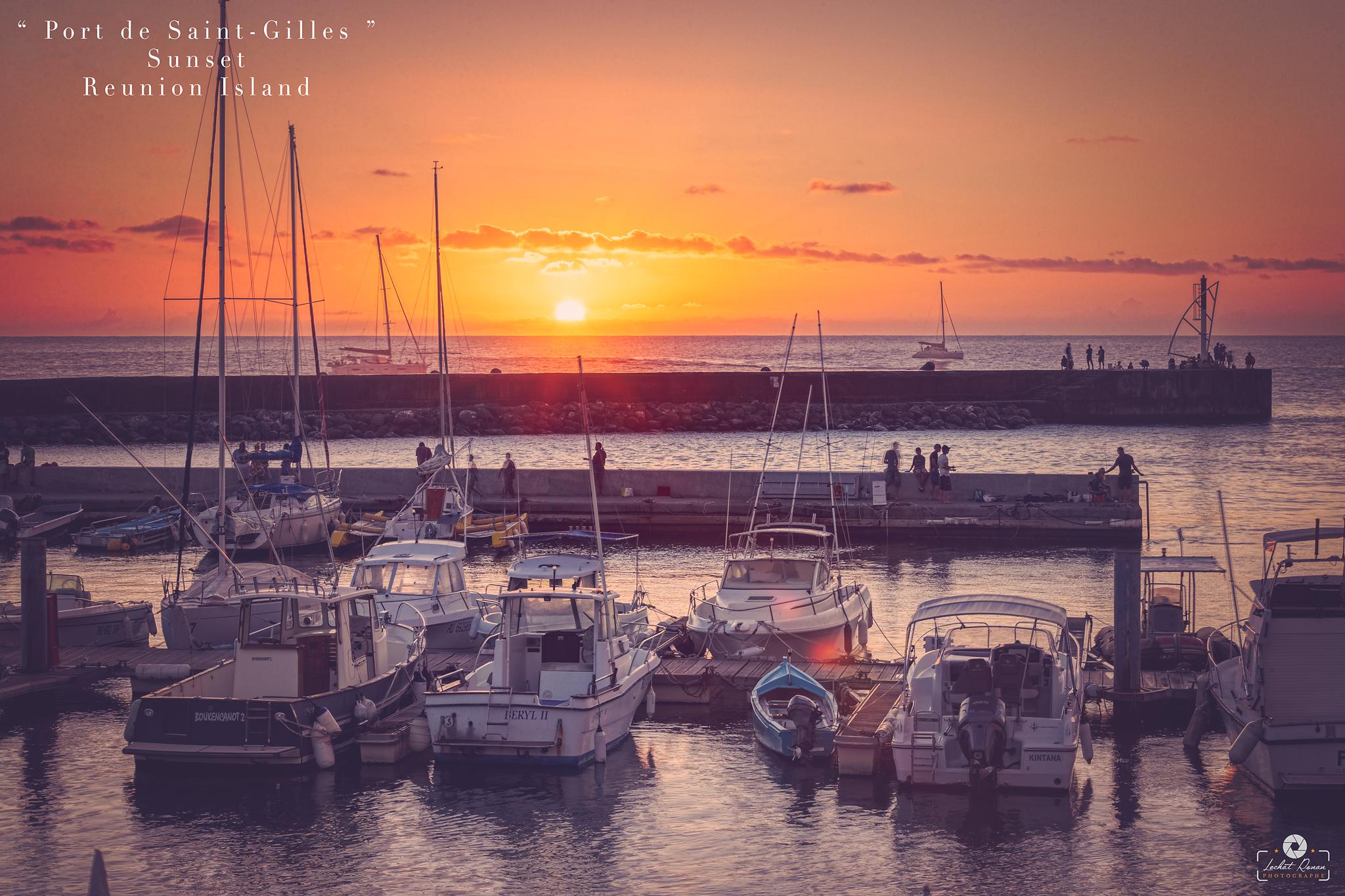 coucher de soleil sunset reunion island