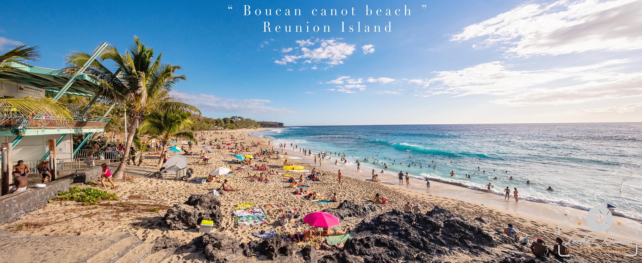 boucan canot beach plage reunion island