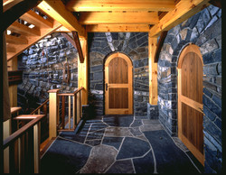 Doors under stairs