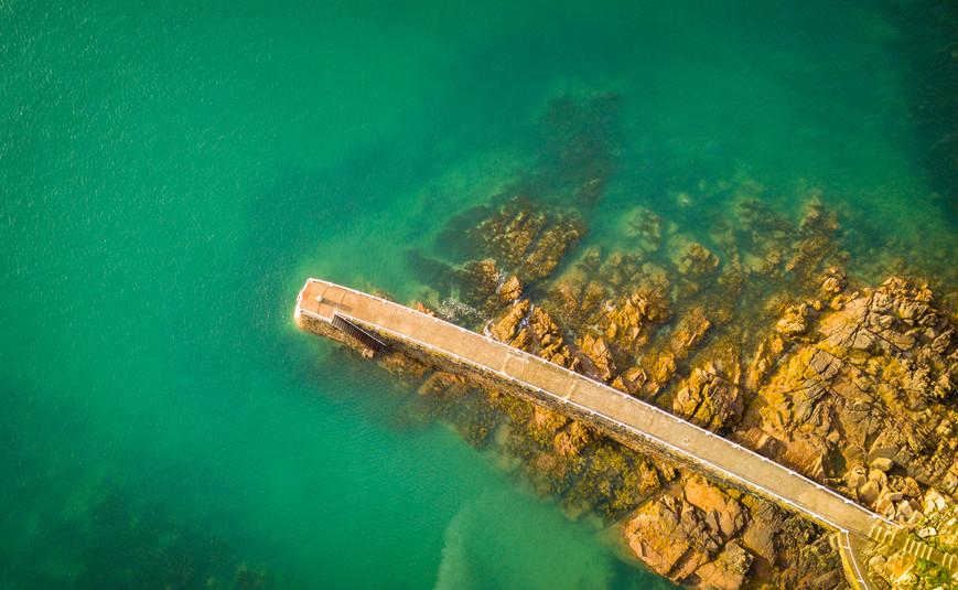 St Brelades Bay Breakwater TD