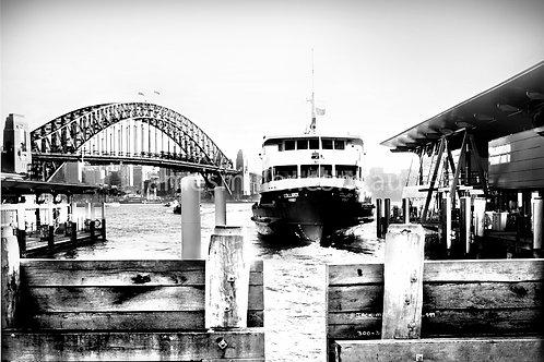 Ferry quay landscape