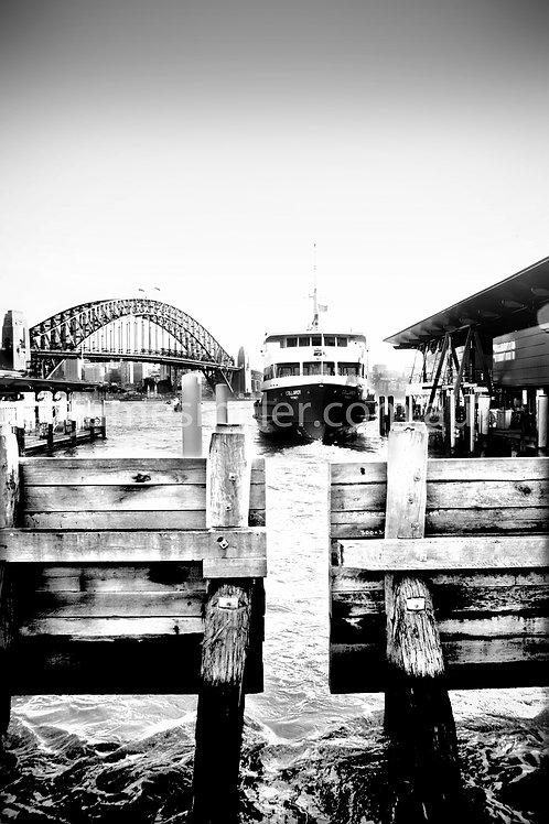 Ferry quay portrait