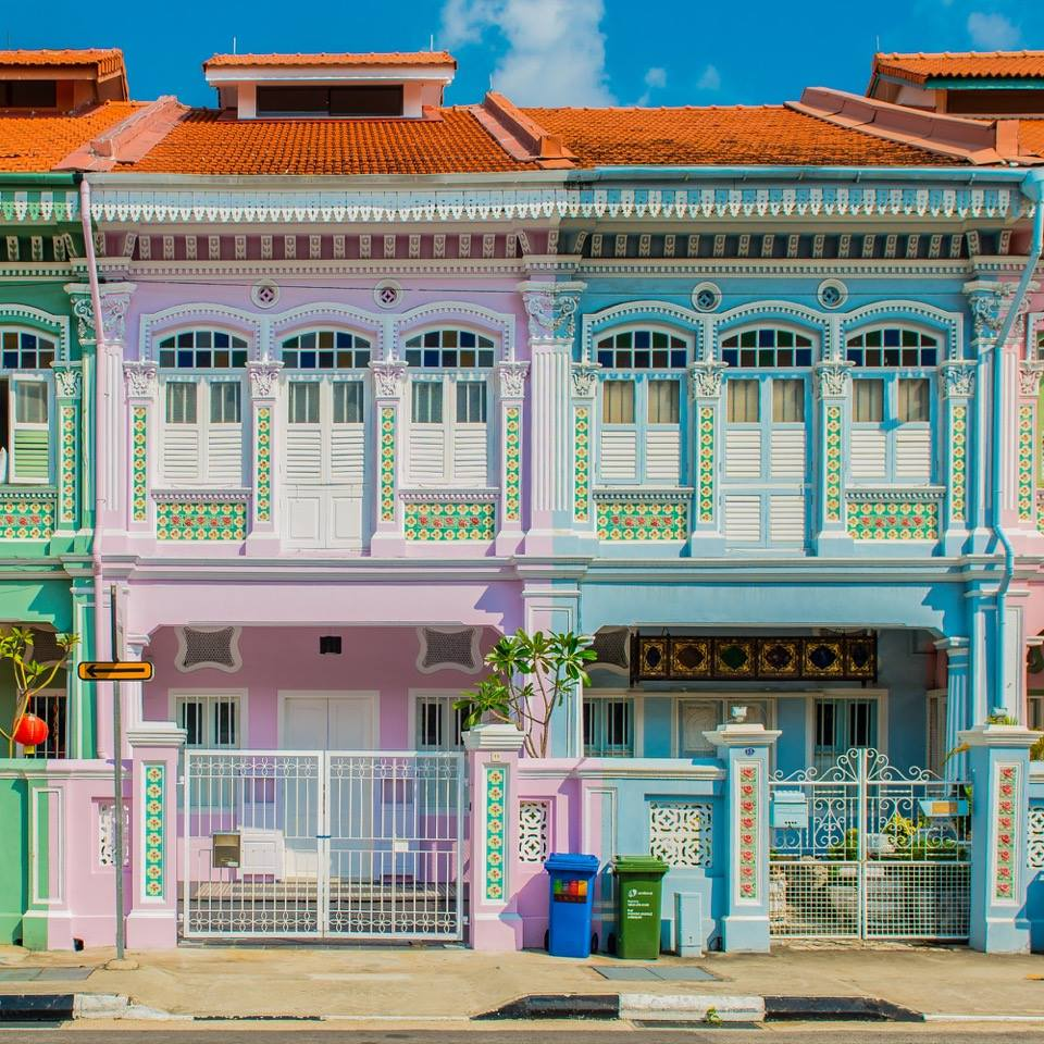 Shophouses by Sandra Macheroux
