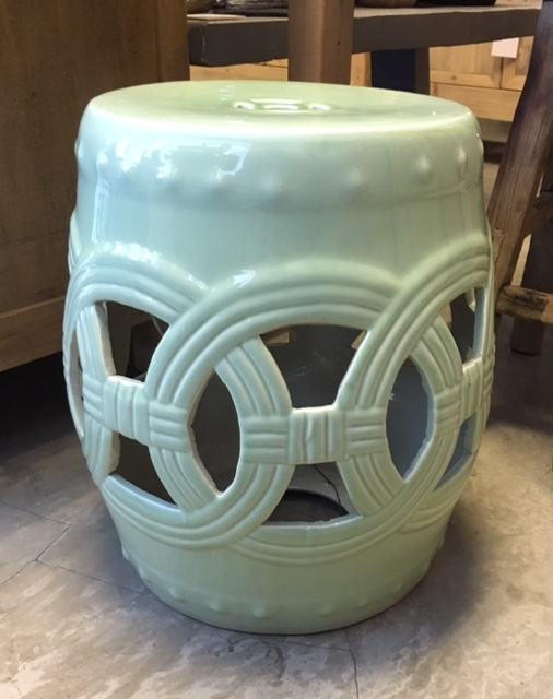 Cut-out Stool in Mint