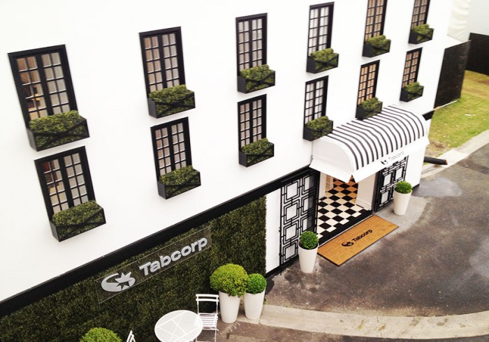 Tabcorp-birdcage-marquee-entrance-treate