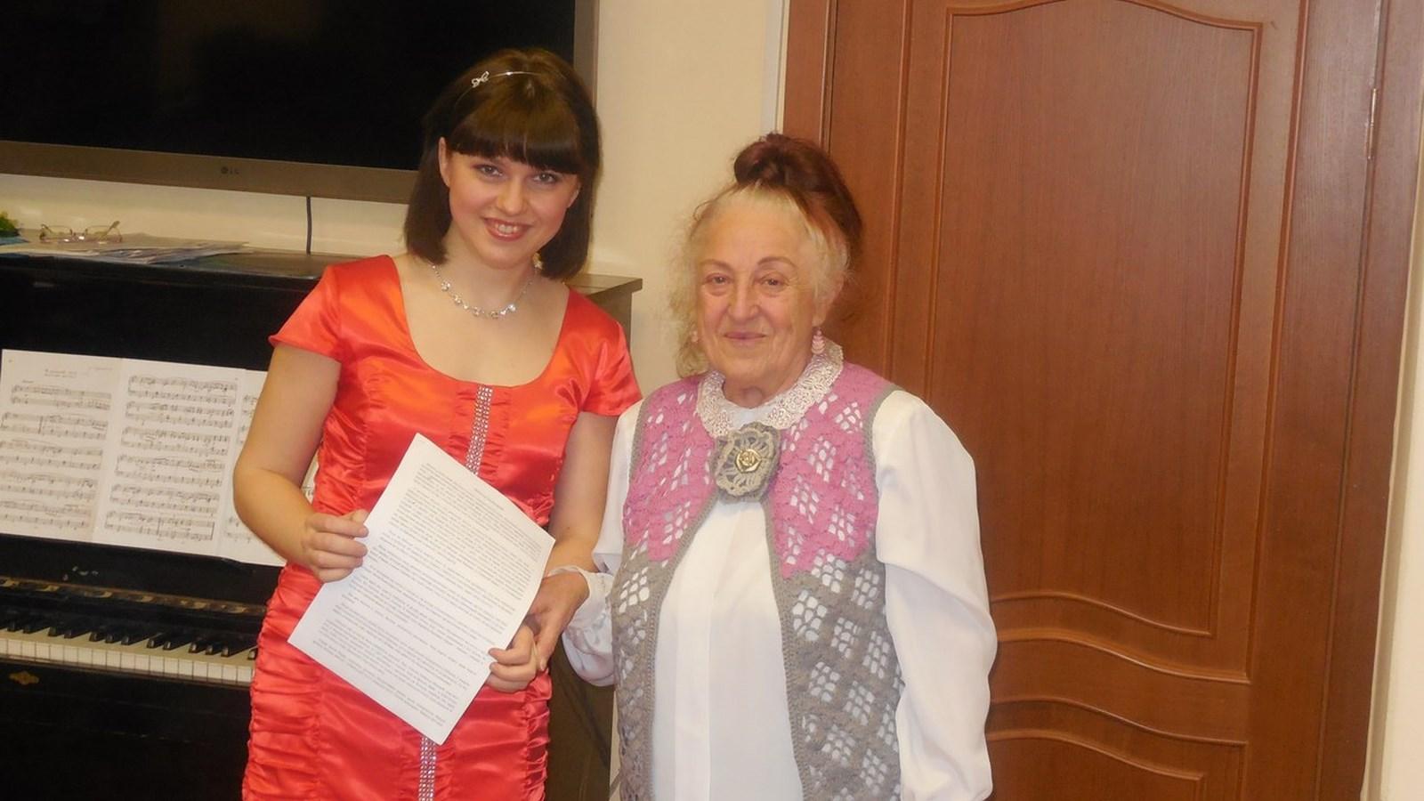 Вдова поэта М. Суворова