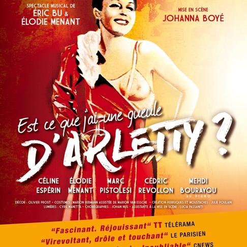En attendant les Molières. Est-ce que j'ai une gueule d'Arletty ? Théâtre Petit Montparnasse