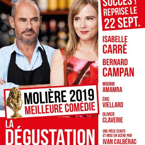 🅵🅵🅵🅵LA DÉGUSTATION. Théâtre de la Renaissance