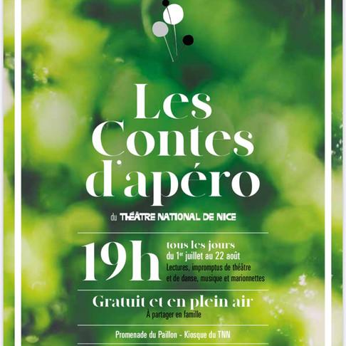 Théâtre National de Nice - Les Contes d'apéro - Kiosque du TNN - Promenade du Paillon
