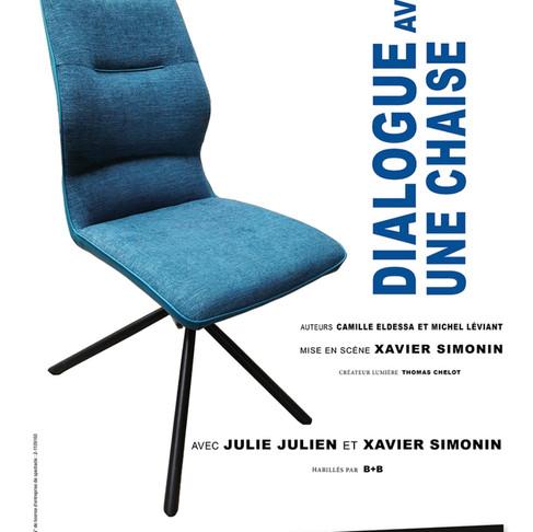 🅵Dialogue avec une chaise. Théâtre Essaïon