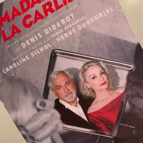 Madame de la Carlière. Théâtre Lucernaire