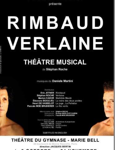 Raimbaud Verlaine. Theatre du Gymnase