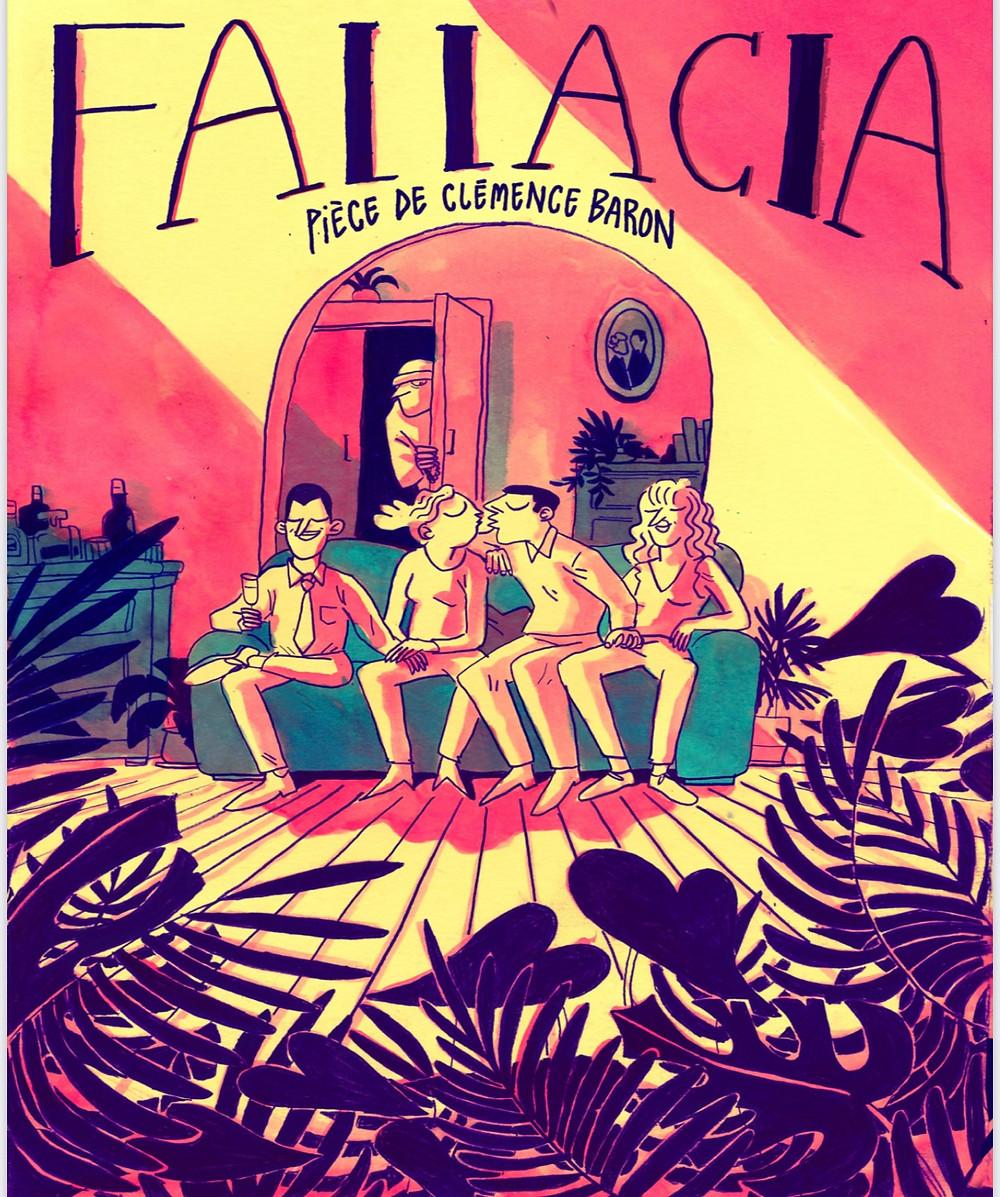 affiche fallacia theatre