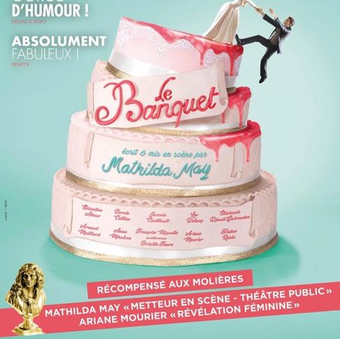 Le Banquet. Magistral au Théâtre de Paris