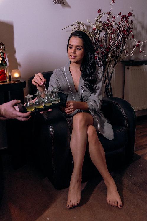 Massage Aromatique aux Huiles Essentielles tièdes (à partir d'1h)