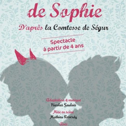 Les malheurs de Sophie. Théâtre Essaïon