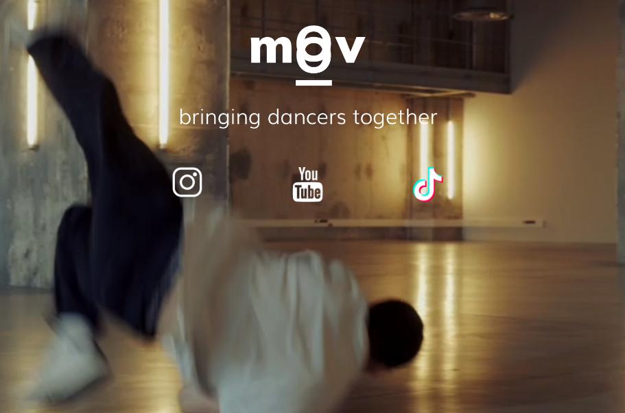 Affiche moov danseur