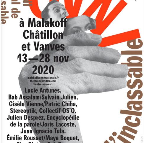 OVNI FESTIVAL DE L'INCLASSABLE - 1ère ÈDITION. MALAKOFF SCÈNE NATIONALE