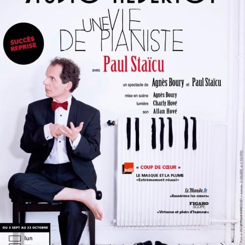 Une vie de pianiste. Un été particulier à Paris