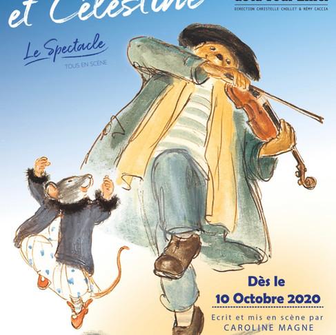 Ernest et Célestine. Théâtre de la Tour Eiffel