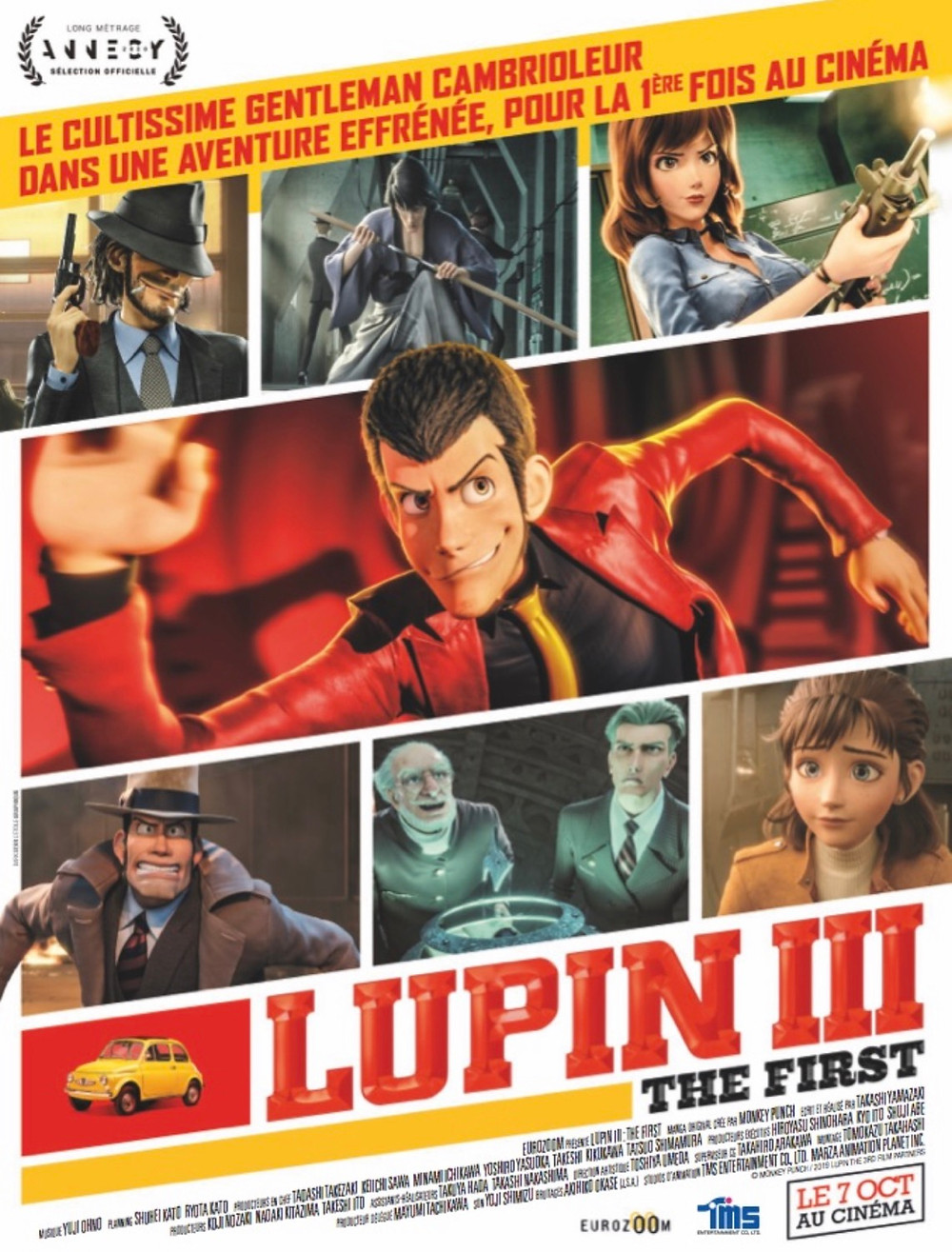 affiche lupin 3