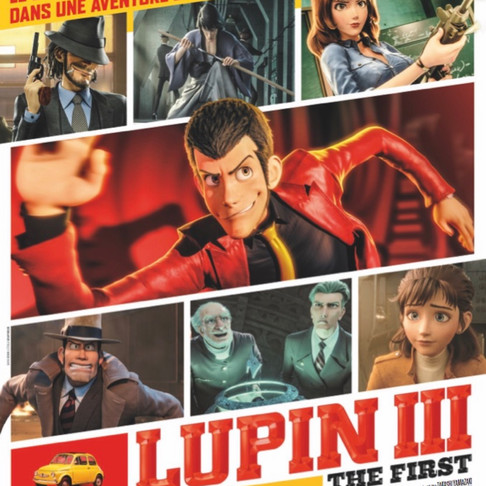 🅵🅵🅵🅵LUPIN III : THE FIRST. Sortie cinéma, le 7 octobre 2020