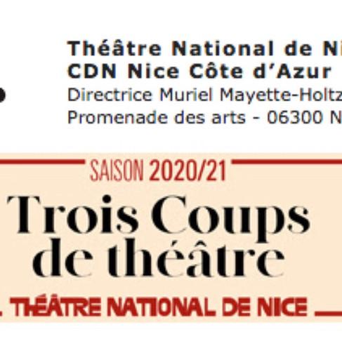 Théâtre National de Nice - Préambule de l'Automne